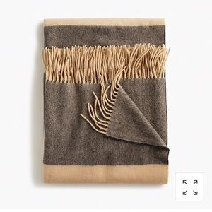 Other - NWT Cashmere Throw Blanket J.Crew